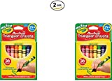 Crayola My First Crayola Triangular Crayons 16ct (2 Pack)