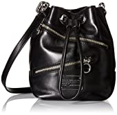 Marc by Marc Jacobs New Too Hot To Handle Zippers Small Bucket Bucket Cross Body Bag