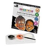 Snazaroo Trio Face Painting Kits, Face Paint Sets, Body Paints (Pumpkin)