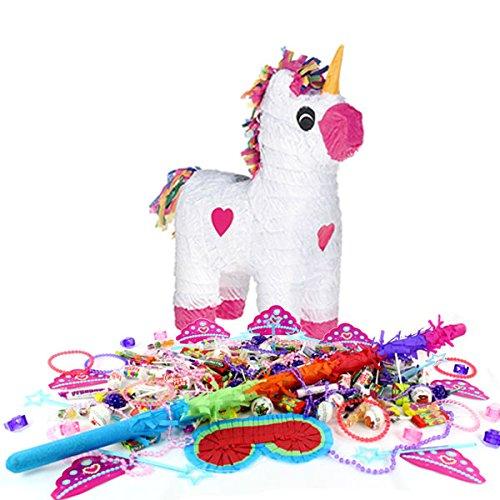 Piata-Fille-Licorne-Kit-fte-danniversaire-Motif-bonbons-Amazing-Child-Montessori-favorise-Buster
