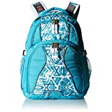 High Sierra Swerve Backpack, Tropic Teal/Teal Shibori/White