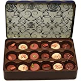 Leonidas Belgian Chocolates: Signature Blue Tin with Anniversary Collection