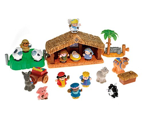 Fisher-Price Little People Nativity Set | 11street Malaysia - Home Decoration