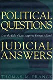 img - for Political Questions Judicial Answers book / textbook / text book