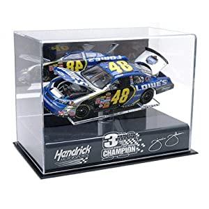 Mounted Memories Jimmie Johnson NASCAR Sprint Series Cup 2008 Champion 1:24 Die-Cast... by Mounted Memories