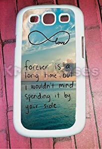 Krezy Case © Samsung Galaxy S3 Case, Cute Forever love - infinity Galaxy S3 Cover, Samsung Galaxy S3 Cases, Galaxy S3 Case