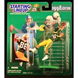 ANTONIO FREEMAN / GREEN BAY PACKERS 1998 NFL Starting Lineup Action Figure & Exclusive NFL Collector Trading Card ~ Starting Line Up