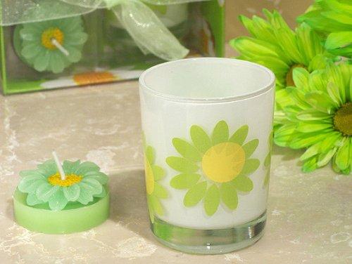Floral Spring Theme Votive Candle Holder [Set Of 24]