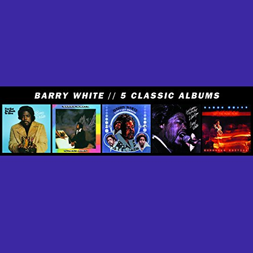 Barry White - 5 Classic Albums [5 Cd] - Zortam Music