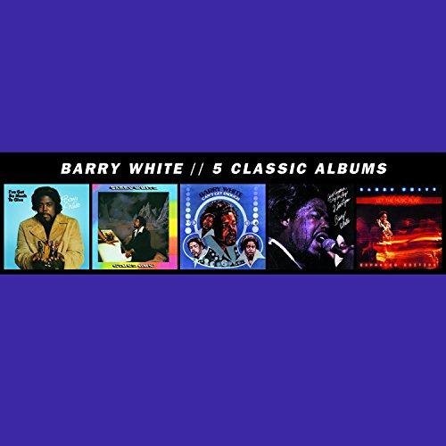 Barry White - 5 Classic Albums [5 Cd] - Zortam Music