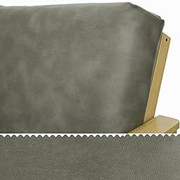 Faux Leather Quartz Futon Cover Queen 167