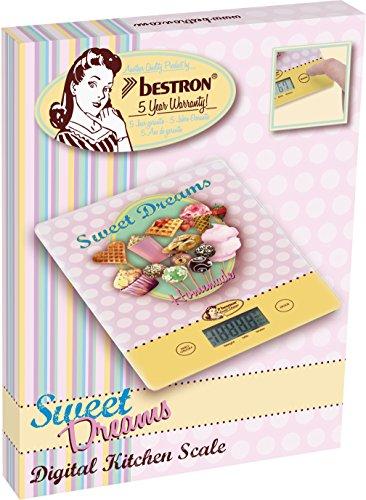 Bestron AKS700SD Balance Cuisine Numérique avec Sweet Dream Motif