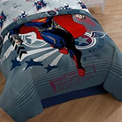 Warner Brothers Superman Man of Steel Comforter, Twin