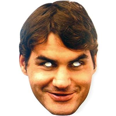 Mka Roger Federer Celebrity Mask