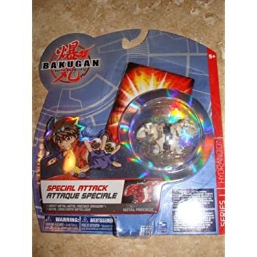 Bakugan Battle Brawlers Special Attack Heavy Metal Series 1 Hydranoid Random