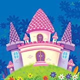 Castle Painting For Kids Room Kids Room Décor Kids Room Curtains Kids Room Decoration Items Kids Room Accessories...