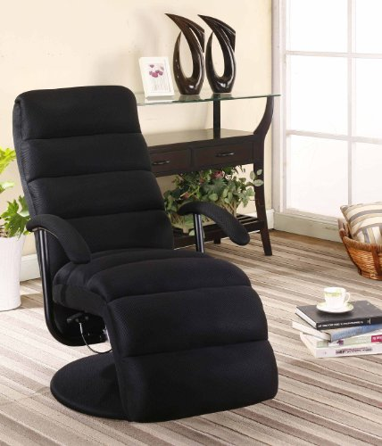 Mesh Black Relax Recliner Swivel Chair : mesh recliner - islam-shia.org