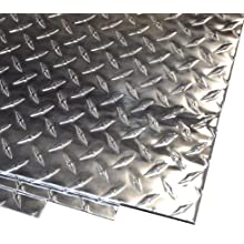 Aluminum 3003-H22 Diamond Tread Plate, Bright Finish, ASTM B209