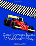 Cursive Handwriting Practice Workbook for Boys