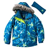 ZeroXposur Teal Gem ZX-360 Girls Snowboard Jacket - L (14)
