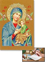 Our Lady of Perpetual Help Devotional Notecard Saint Religious Thank You Cards