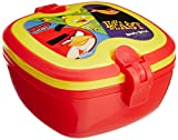 Rovio Angry Bird Lunch Box with Handle, 172mm, Red