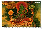 The Art of Tibet Postcard Book