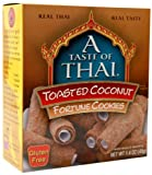 A Taste of Thai Toasted Coconut Fortune Cookies, 1.4-Ounce Boxes (Pack of 8)