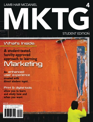 MKTG 4 ( Marketing CourseMate  eBook Printed