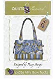 Mini Bow Tucks Quilted Bag Pattern by Penny Sturges