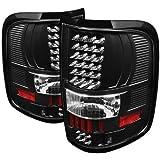 Rxmotoring 2005 Ford F150 Pickup Led Tail Lights + 8 L.E.D Bumper Fog Lamp