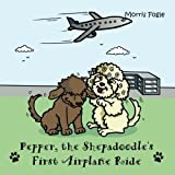 Pepper, The Shepadoodle's: First Airplane Ride