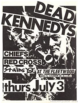 Dead Kennedys Mini Poster 11x17in Heavy Stock Print