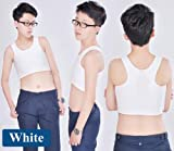 Whatwears Les Lesbian Tomboy Short Vest Chest Binder Tops