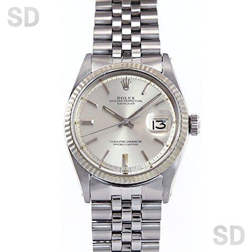 [ロレックス]ROLEX腕時計 デイトジャスト シルバー Ref:1601 メンズ [アンティーク] [並行輸入品]
