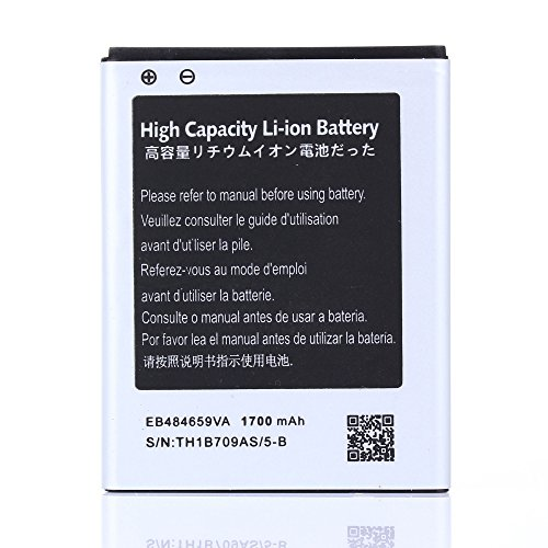 High Capacity Samsung Transform Ultra SPH-M930 Battery EB484659VA EB484659VU For Samsung Transform Ultra SPH-M930 / Samsung Conquer 4G SPH-D600 / Samsung Transfix SCH-R730 / Samsung Focus Flash SGH-i677 / Samsung Galaxy Exhibit 4G SGH-T759 / Samsung Galaxy Exhibit II 4G SGH-T679 / Samsung Gravity Smart SGH-T589 1700 mAh (Samsung Transform Ultra compare prices)