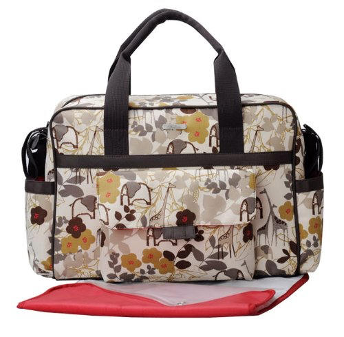 New Fashion Baby Diaper Nappy Changing Bag Bags 3pcs Beige By Baby Baggage