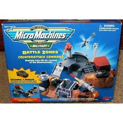 Micromachines Military Skirmish At Four Pines Set