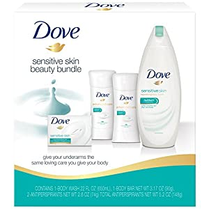Dove Beauty Bundle Deodorants, Sensitive Skin, 4 Count