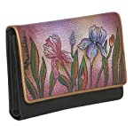 Anuschka Ladies Three Fold Wallet