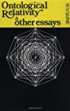 Ontological Relativity & Other Essays (0231083572) by Quine, W. V.
