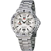 TAG Heuer Men's WAU111B.BA0858 Formula 1 White Dial Grande Date Alarm Watch by TAG Heuer