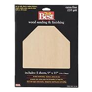 Ali Ind. 330043 Do it Best Garnet Sandpaper-XFINE GARNET SANDPAPER
