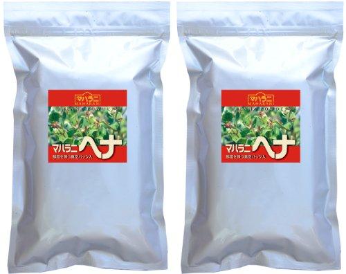 マハラニ ヘナ 2013年収穫 1kg 使用説明書同梱