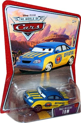 RACE OFFICIAL TOM #57 Disney / Pixar CARS 1:55 Scale THE WORLD OF CARS Die-Cast Vehicle