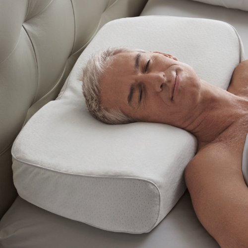Snore Relief Pillows Brookstone Anti Snore Pillow
