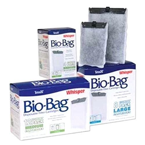 Whisper Bio-bag Cartridge, Medium,1-pack Aquarium Equipment for Fish Tank (Light Film Shark Tank compare prices)