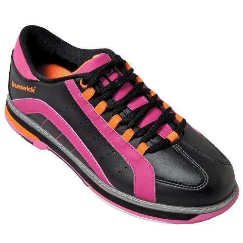 brunswick-womens-raven-bowling-shoes-black-pink-orange-85