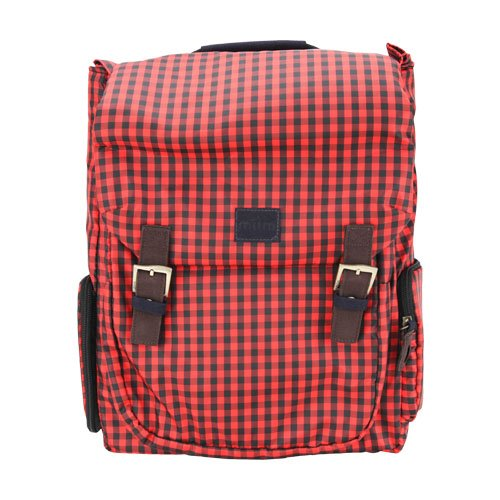 Click to buy miim Cube Checkered Backpack (Red) for Lenovo IdeaPad S400 Touch - From only $65