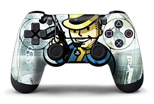 Cloudsmart fallout 4 ps4 controller designer skin for sony for Housse manette ps4